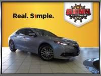 Certified 2015 Acura TLX V6 Advance Sedan San Antonio, TX
