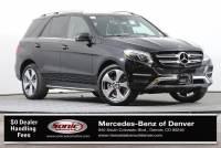 2017 Mercedes-Benz GLE 350 4MATIC SUV in Denver
