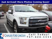 2015 Ford F-150 Lariat CREW CAB TRUCK V6 ECOBOOST ENGINE