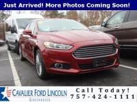 2014 Ford Fusion Titanium Sedan I4 16V GDI DOHC Turbo