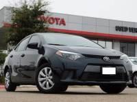 2015 Toyota Corolla LE Certified Sedan Front-wheel Drive 4-door