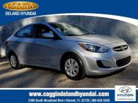 Certified 2015 Hyundai Accent GLS (A6) Sedan in Jacksonville FL
