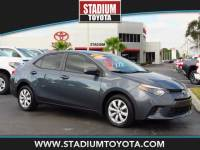Certified Pre-Owned 2015 Toyota Corolla 4dr Sdn CVT LE FWD