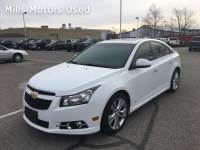 Certified Pre-Owned 2012 Chevrolet Cruze LTZ Bluetooth Leather Bose Sunroof Remote Start 1.4L Turbo Automatic