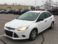 Certified Pre-Owned 2012 Ford Focus Sedan 2.0L 6-Speed Automatic White