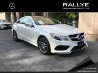 Certified Pre-Owned 2016 Mercedes-Benz E 400 AWD 4MATIC®
