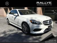Certified Pre-Owned 2015 Mercedes-Benz E 350 AWD 4MATIC®