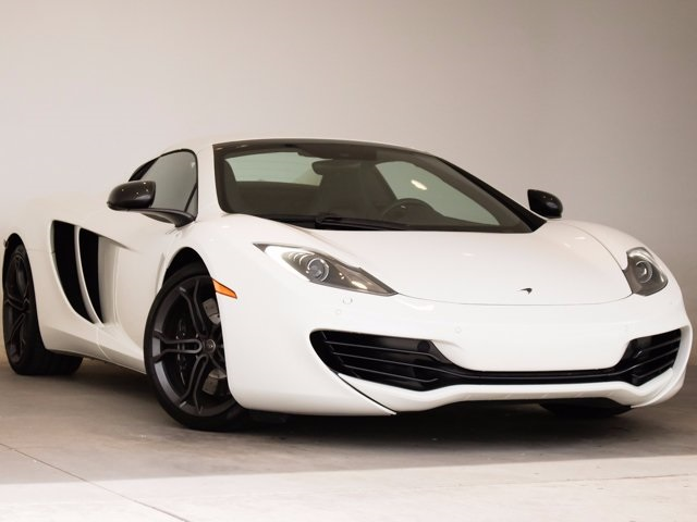 Photo Pre-Owned 2014 McLaren MP4-12C Spider RWD 2D Convertible