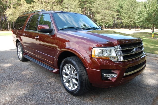 Photo Certified Pre-Owned 2017 Ford Expedition EL Limited RWD 4D Sport Utility