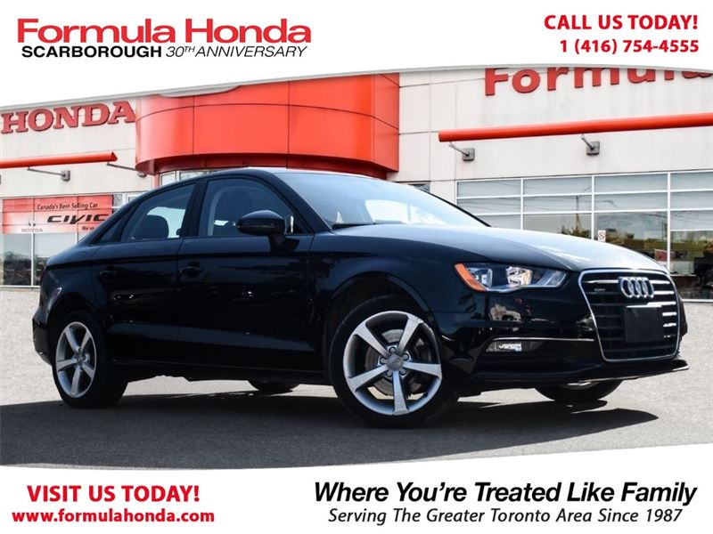 Photo Pre-Owned 2016 Audi A3 100 PETROCAN CARD YEAR END SPECIAL AWD