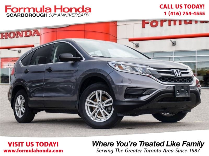 Photo Certified Pre-Owned 2016 Honda CR-V 100 PETROCAN CARD YEAR END SPECIAL FWD Sport Utility
