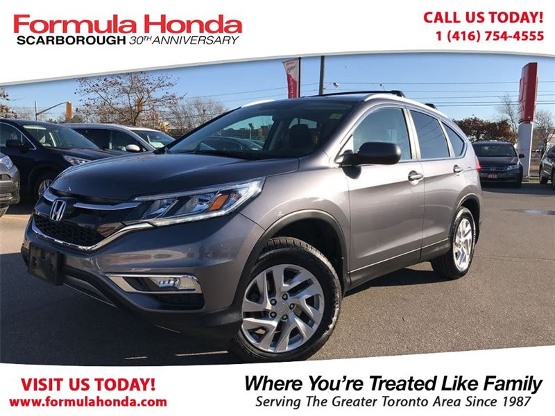 Photo Certified Pre-Owned 2015 Honda CR-V 100 PETROCAN CARD YEAR END SPECIAL AWD