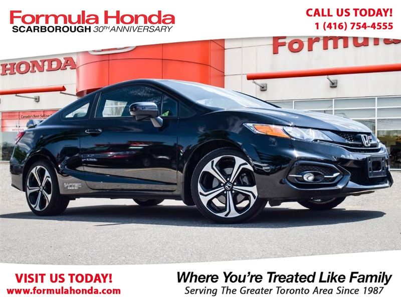 Photo Certified Pre-Owned 2015 Honda Civic Coupe 100 PETROCAN CARD YEAR END SPECIAL FWD Car