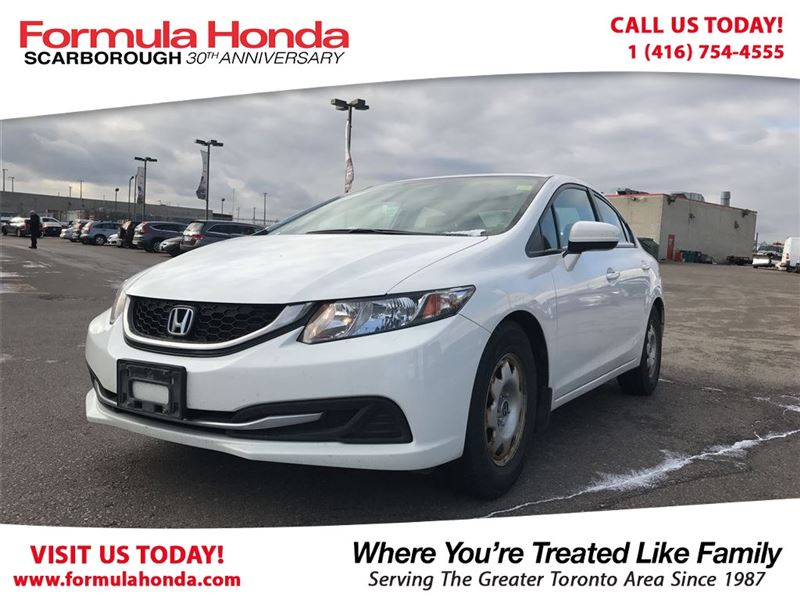Photo Certified Pre-Owned 2014 Honda Civic Sedan 100 PETROCAN CARD YEAR END SPECIAL FWD Car