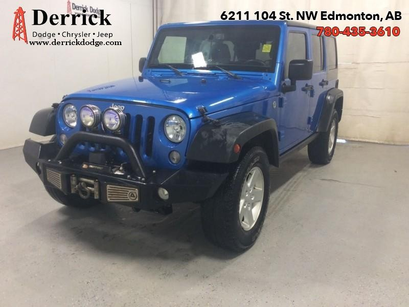 Photo Pre-Owned 2014 Jeep Wrangler Unlimited Used 4WD Sport Trail Rated Hard Top 182.27 BW