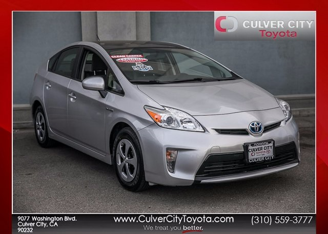 Certified Pre-Owned 2014 Toyota Prius Three FWD 5D Hatchback