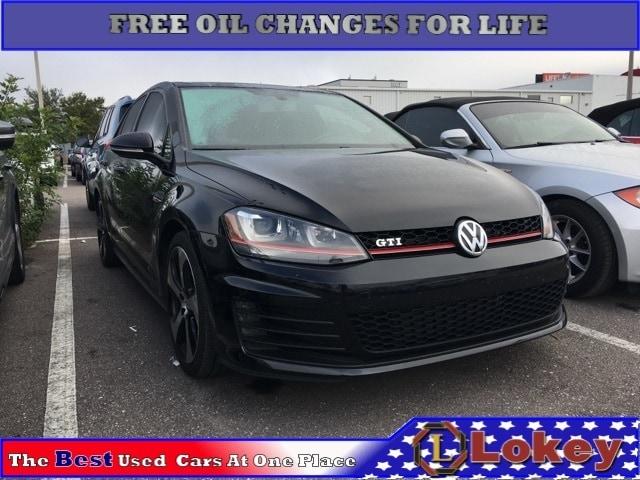 Used 2015 Volkswagen Golf GTI 2.0T SE Hatchback in Clearwater, FL