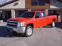 2011 Chevrolet Silverado 3500HD 4x4 Work Truck 4dr Crew Cab LB SRW