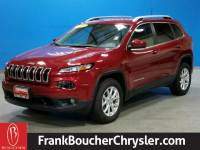 CERTIFIED PRE-OWNED 2017 JEEP CHEROKEE LATITUDE FOUR WHEEL DRIVE SUV