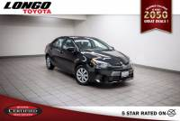 Certified Used 2016 Toyota Corolla CVT LE in El Monte