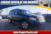 Pre-Owned 2005 Toyota Highlander Base w/o 3rd Row SUV Front-wheel Drive in Jacksonville FL
