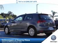 2015 Volkswagen Golf TSI S Hatchback Front Wheel Drive