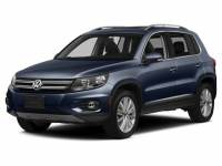 2016 Volkswagen Tiguan SE SUV Front Wheel Drive