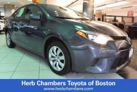 2015 Toyota Corolla LE Sedan Front-wheel Drive