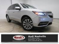 Used 2014 Acura MDX Tech/Entertainment Pkg FWD 4dr SUV Front-wheel drive in Nashville