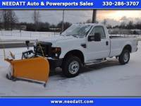 2010 Ford Super Duty F-250 SRW XL REGCAB 4WD W/ Meyers V-plow, Model SV2-8.5