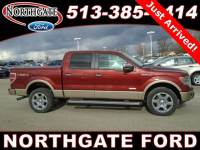 Used 2014 Ford F-150 Lariat Truck SuperCrew EcoBoost V6 GTDi DOHC 24V Twin Turbocharged in Cincinnati