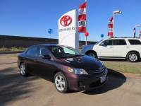 Used 2013 Toyota Corolla LE Special Edition Sedan FWD For Sale in Houston