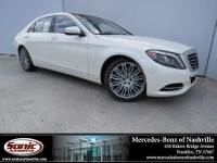 2015 Mercedes-Benz S-Class S 550 4dr Sdn RWD in Franklin