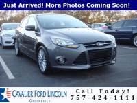 2014 Ford Focus Titanium HATCHBACK I4 GDI ENGINE