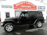 2007 Jeep Wrangler Unlimited 4x4 Sahara 4dr SUV