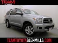 Certified Used 2015 Toyota Sequoia 4WD SR5 5.7L V8 for sale in Glen Mills PA