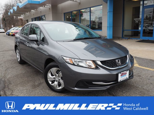 Certified Pre-Owned 2013 Honda Civic Sdn LX FWD 4dr Car