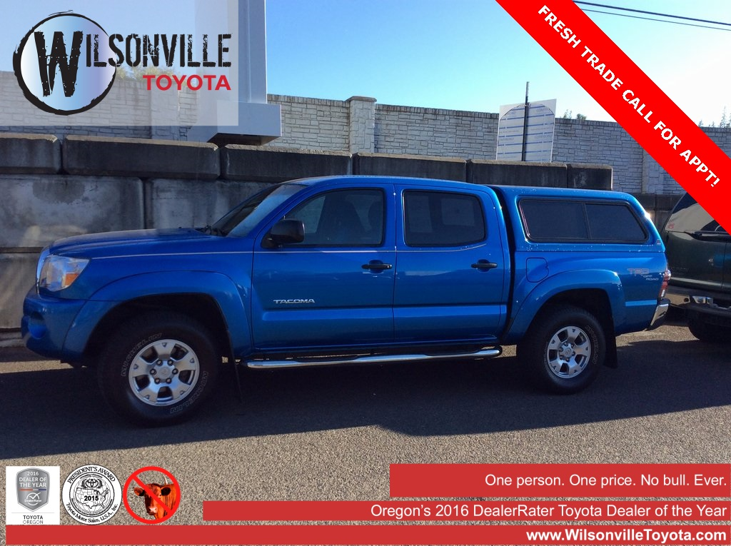 Photo Pre-Owned 2009 Toyota Tacoma PreRunner TRD Off-Road RWD 4D Double Cab