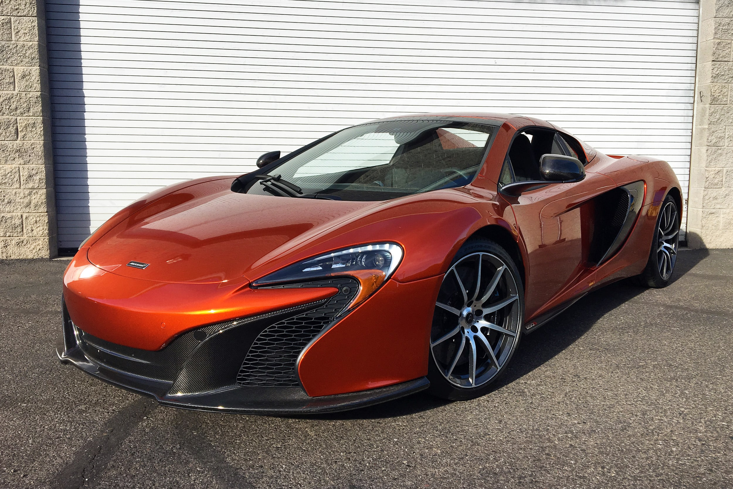 Photo Certified Pre-Owned 2016 McLaren 650S Spider Convertible Scottsdale, AZ
