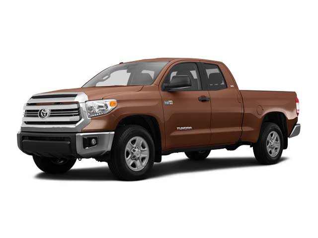 Used 2016 Toyota Tundra 4WD Truck SR5 Double Cab 5.7L FFV V8 6-Spd AT SR5 in Hiawatha, IA