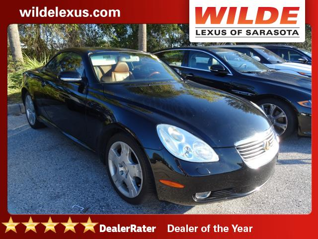 Photo Pre-Owned 2003 Lexus SC 430 2dr Convertible RWD Convertible