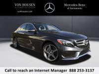 Certified Pre-Owned 2015 Mercedes-Benz C 400 AWD 4MATIC®
