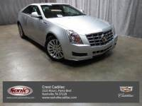 Certified 2014 Cadillac CTS Coupe 3.6L V6 RWD