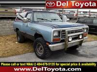 Used 1985 Dodge RAM Charger For Sale | Serving Thorndale, West Chester, Thorndale, Coatesville, PA | VIN: 1B4GW12T5FS616474