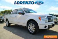 Pre-Owned 2012 Ford F-150 Supercrew Platinum RWD Crew Cab Pickup