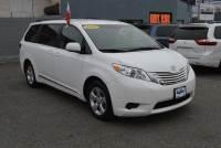 Pre-Owned 2017 Toyota Sienna LE FWD 8-Passenger Front Wheel Drive Minivan/Van