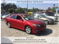 2012 Toyota Camry SE Sport Limited Edition 4dr Sedan