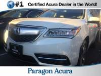 Certified Pre-Owned 2015 Acura MDX SH-AWD