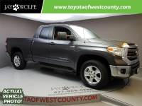 Certified Pre-Owned 2015 TOYOTA Tundra DLX Four Wheel Drive Double Cab
