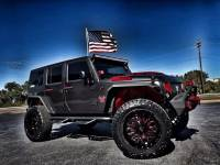 Used 2017 Jeep Wrangler Unlimited BAD BOY CUSTOM LIFTED LEATHER HARDTOP